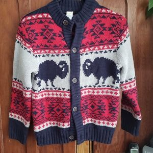 Boys gymboree cardigan size 7-8